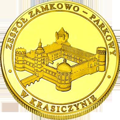 Front side Zamek w Krasiczynie Złote Podkarpackie