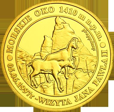 Front side Morskie Oko Zakopane - Tatry Szlak Jana Pawła II