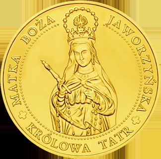Front side Sanktuarium Matki Bożej Jaworzyńskiej w Wiktorówkach Szlak Jana Pawła II