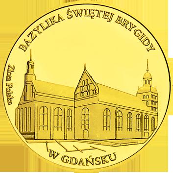Front side Bazylika Św. Brygidy w Gdańsku Złote Pomorskie