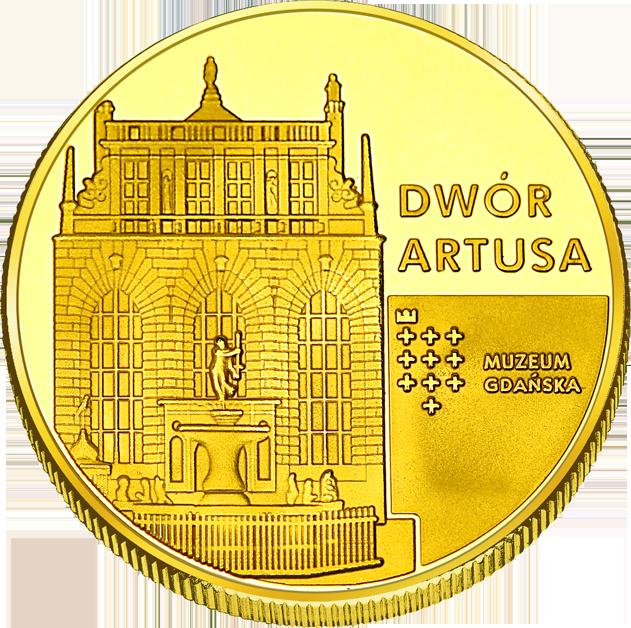 Front side Dwór Artusa w Gdańsku Złote Pomorskie
