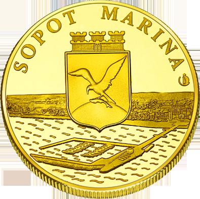Front side Molo w Sopocie Złote Pomorze