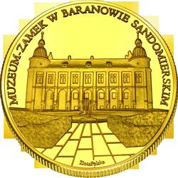 Front side Zamek w Baranowie Sandomierskim Złote Podkarpackie