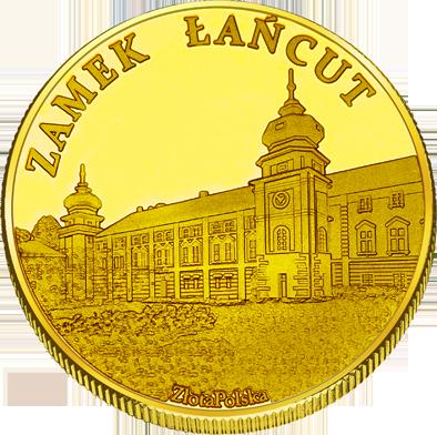 Front side Muzem-Zamek w Łańcucie Złote Podkarpackie