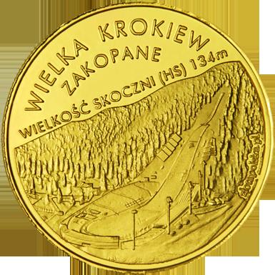 Front side Skocznia Narciarska  Złote Tatry