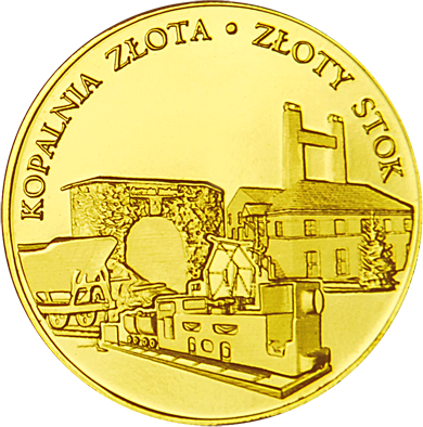 Front side Kopalnia Złota Złoty Stok Złoty Dolny Śląsk