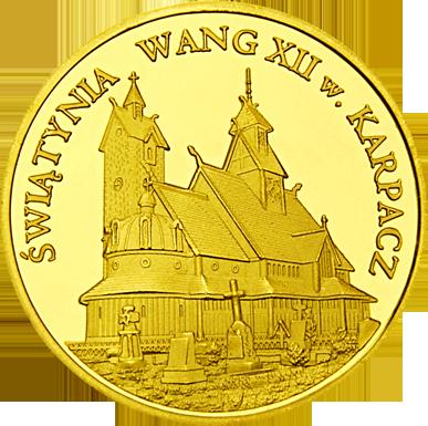 Front side Świątynia Wang w Karpaczu Złote Dolnośląskie