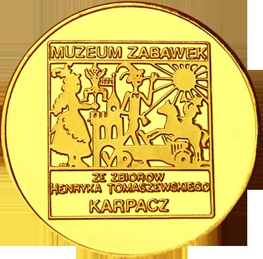 Front side Muzeum Zabawek w Karpaczu Złote Dolnośląskie