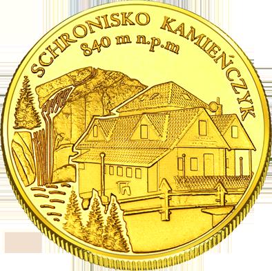 Front side Schronisko Kamieńczyk w Szklarskiej Porębie Złote Dolnośląskie