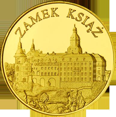 Front side Zamek Książ Złote Zamki i Pałace