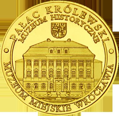 Front side Muzeum Historyczne we Wrocławiu Złote Dolnośląskie