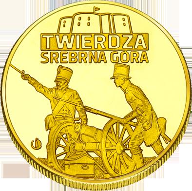 Front side Twierdza Srebrna Góra Złote Dolnośląskie