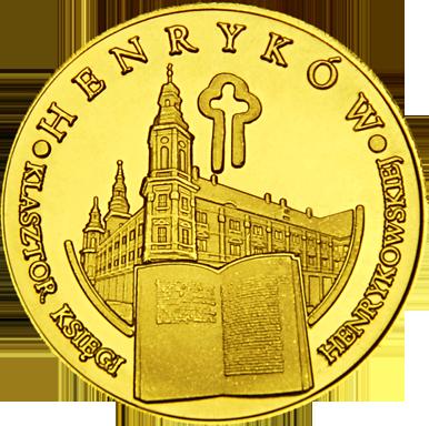 Front side Klasztor Księgi Henrykowskiej Złoty Dolny Śląsk