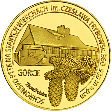 Front side Schronisko PTTK na Starych Wierchach w Gorcach Złote Małopolskie