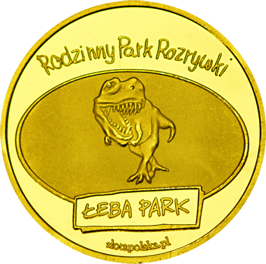 Front side Łeba Park Złote Pomorskie