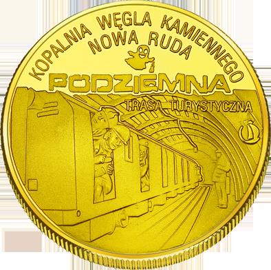 Front side Podziemna Trasa Turystyczna Kopalni Węgla w Nowej Rudzie Złote Dolnośląskie