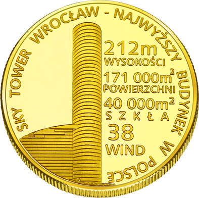 Front side Sky Tower Złote Dolnośląskie