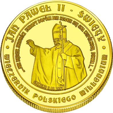 Front side Bazylika prymasowska Wniebowzięcia Najświętszej Maryi Panny w Gnieźnie Szlak Jana Pawła II