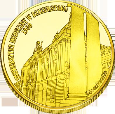 Front side Pałac Branickich w Białymstoku Złote Zamki i Pałace