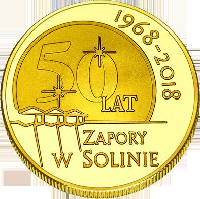 Front side Elektrownia Wodna Solina Złote Podkarpackie