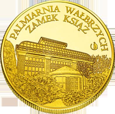 Front side Palmiarnia w Wałbrzychu Złote Dolnośląskie