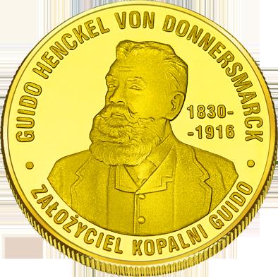 Front side Kopalnia Guido Złote Śląskie
