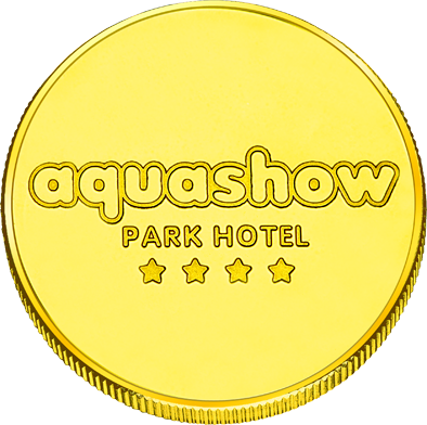 Back side of Aquashow Parque Golden Portugal