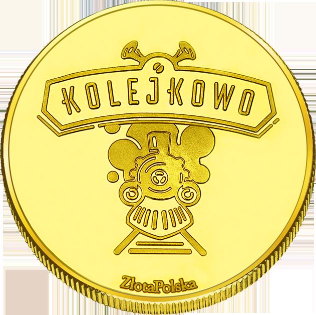 Back side of Kolejkowo Gliwice Złote Śląskie