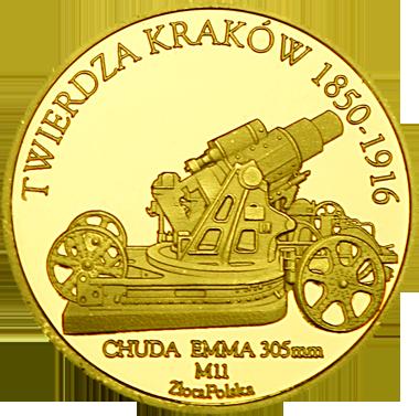 Back side of Kopiec Kościuszki w Krakowie Złote Małopolskie