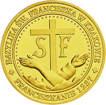 Back side of Bazylika Św. Franciszka z Asyżu w Krakowie Złote Małopolskie