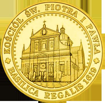 Back side of Kościół Św. Piotra i Pawła w Krakowie Złote Małopolskie