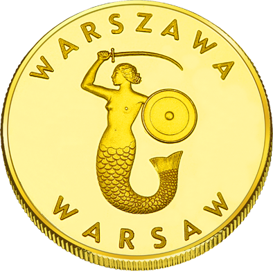 Back side of Pałac Kultury i Nauki w Warszawie Złote Mazowieckie