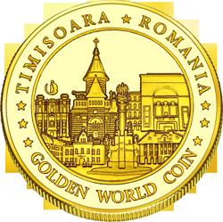 Back side of Shopping City Timișoara Golden Romania