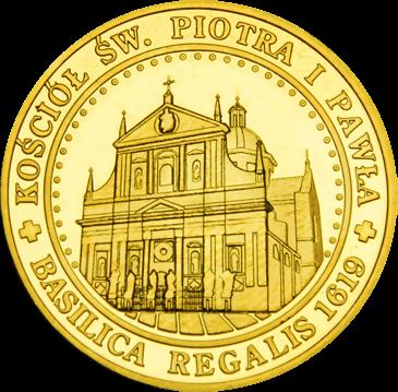 Back side of Kościół Św. Piotra i Pawła w Krakowie Złoty Kraków