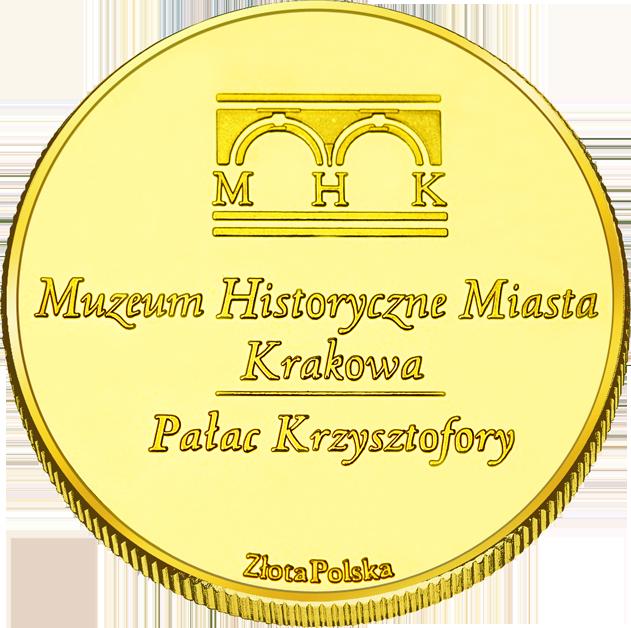 Back side of Pałac Krzysztofory w Krakowie Złote Małopolskie