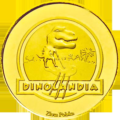 Back side of Dinolandia Park Rozrywki w Inwałdzie Złota Małopolska