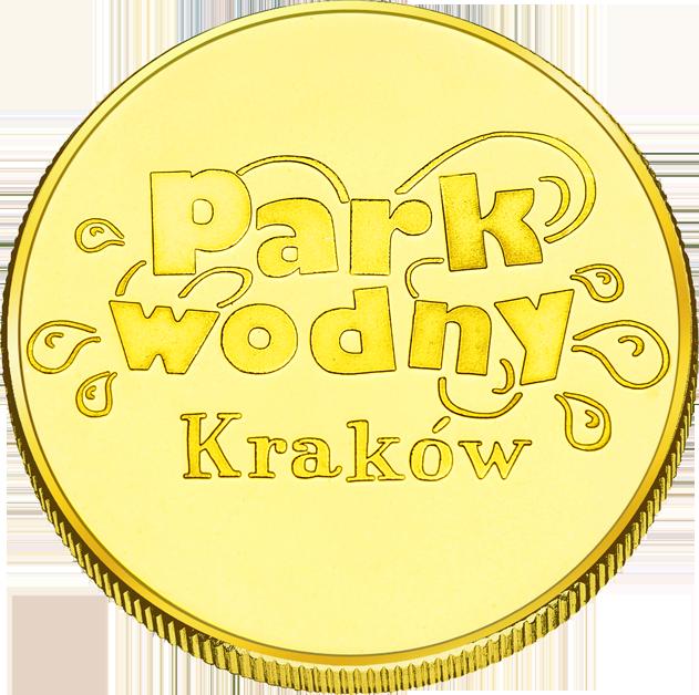Back side of Park Wodny w Krakowie Złote Małopolskie