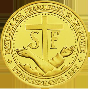Back side of Bazylika Św. Franciszka z Asyżu w Krakowie Szlak Jana Pawła II