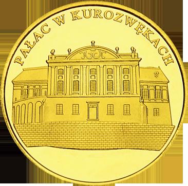 Back side of Pałac w Kurozwękach Złote Świętokrzyskie