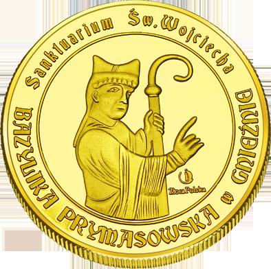 Back side of Bazylika prymasowska Wniebowzięcia Najświętszej Maryi Panny w Gnieźnie Szlak Jana Pawła II