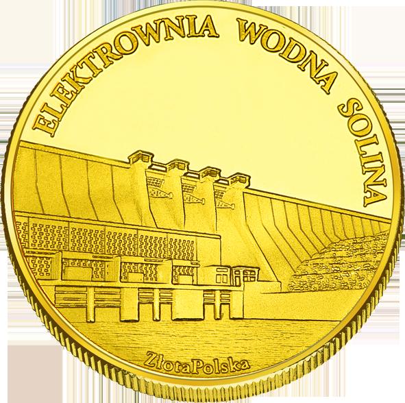Back side of Elektrownia Wodna Solina Złote Podkarpackie