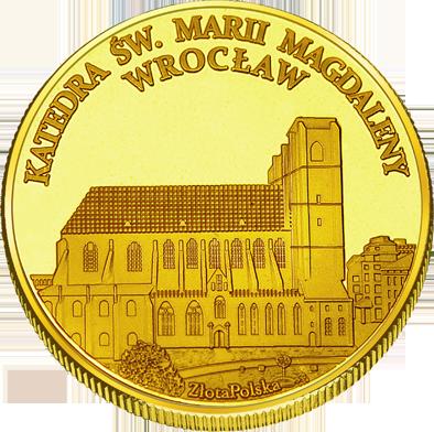 Back side of Katedra św. Marii Magdaleny we Wrocławiu Złote Dolnośląskie