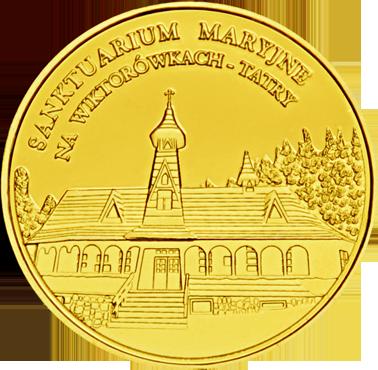 Front side Sanktuarium M.B. Królowej Tatr w Wiktorówkach Złote Małopolskie