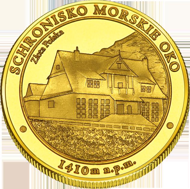 Front side Schronisko PTTK Morskie Oko w Tatrach Złote Małopolskie