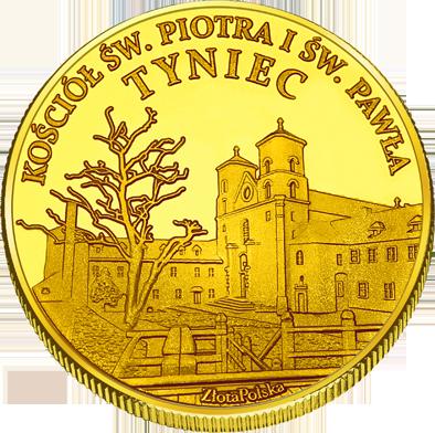 Front side Opactwo Benedyktynów w Tyńcu Złote Małopolskie