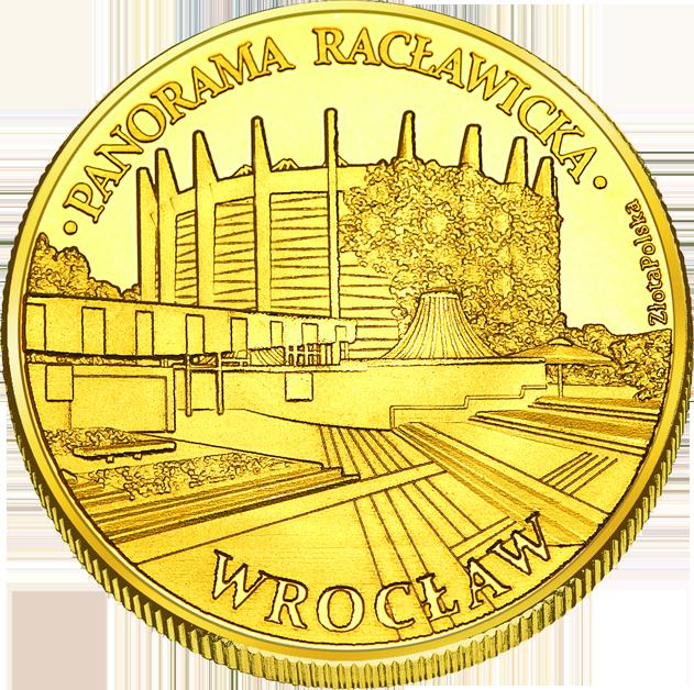 Front side Panorama Racławicka we Wrocławiu Złote Dolnośląskie