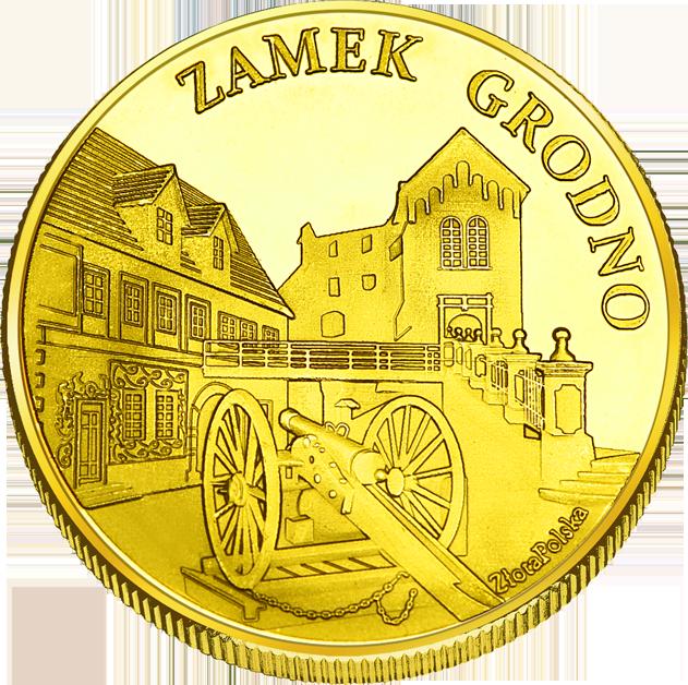 Front side Zamek Grodno Złote Zamki i Pałace