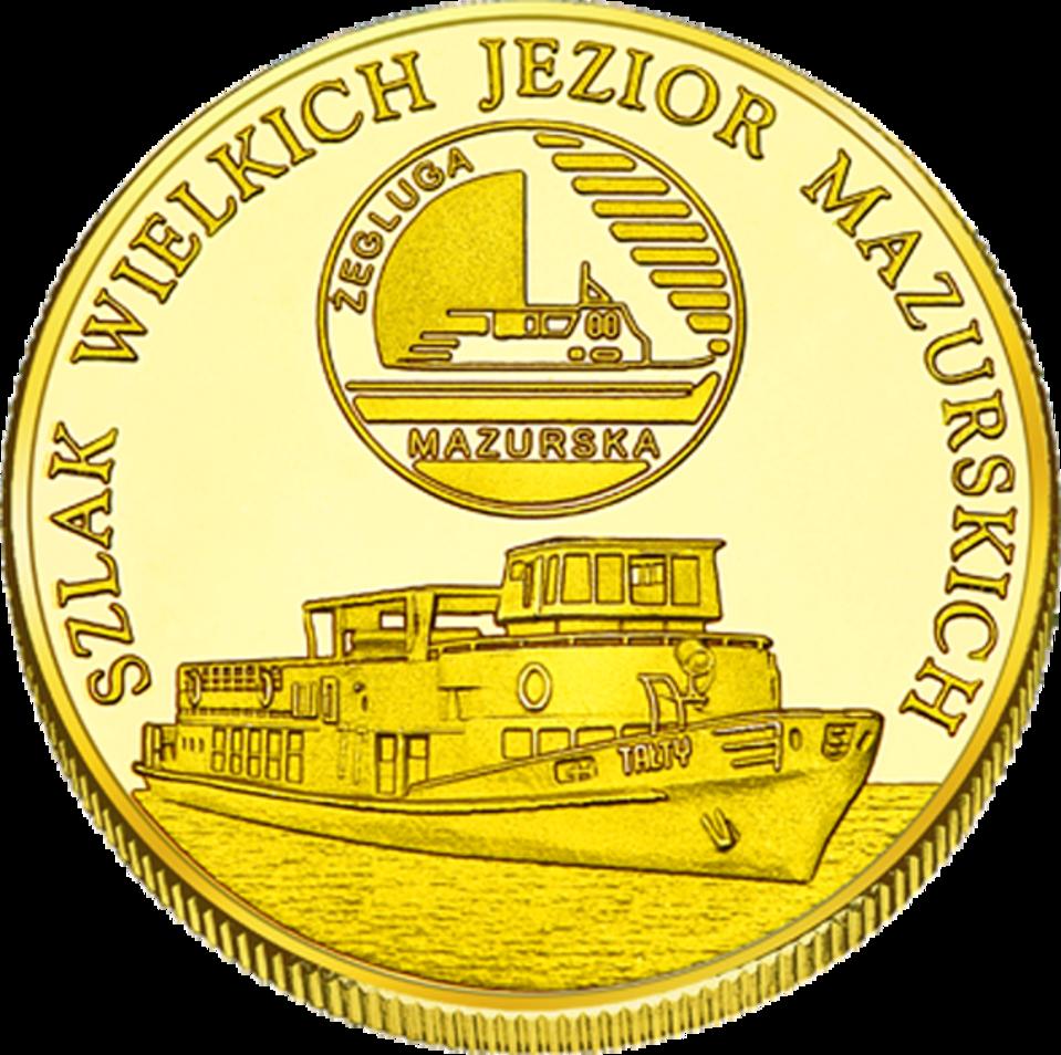 Front side Żegluga Mazurska Złote Warmińsko-Mazurskie