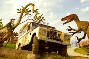 Dinolandia Park Rozrywki w Inwałdzie
