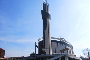 Sanktuarium Bożego Miłosierdzia w Krakowie - Łagiewnikach